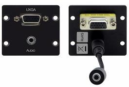Module mặt gắn tường VGA, 3.5mm WXA-2P