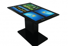 4*21.5 Inch Restaurant Touch Screen Table With NFC And Wireless Charging