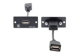 Module mặt gắn tường USB2.0 WU-AA