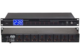 Eight roads power sequence device AC-08P